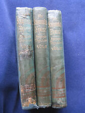 MR. SCARBOROUGH'S FAMILY by ANTHONY TROLLOPE - 3 Vol. Set, 1st Ed. & Printing