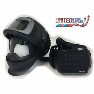 Speedglas 9100 FX Air Welding Shield + Adflo Package (Passive Welding Lens)