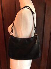 COACH 8165 Ashton Shoulder Bag Lamb Nappa Leather Black Small Purse Handbag