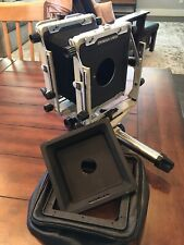 Toyo View D45s 4x5 Monorail Large Format Camera,w/Bag Bellow And Recessed Board.