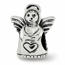Sterling Silver Reflection Angel Bead MSRP $63