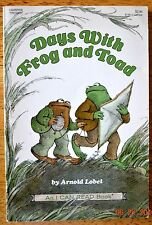 Days With Frog And Toad Arnold Lobel I Can Read Book Level Reader Teacher