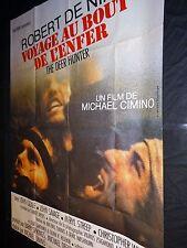 VOYAGE AU BOUT DE L'ENFER the deer hunter  ! de niro affiche cinema 1978