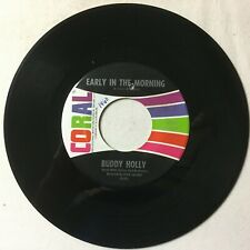 *BUDDY HOLLY Rave On Early In The Morning Decca 62554 VG+ 2nd Degritter