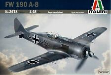 ITALERI 2678 - 1/48 DEUTSCHE FOCKE WULF FW 190 A-8 - LUFTWAFFE