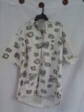 NWOT Woolrich Fishing Tackle Boats Lures Camp Shirt Short Sleeve XL