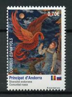 Spanish Andorra Art Stamps 2019 MNH Russian Community Diversity Cultures 1v Set