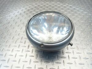 2004 03-06 Moto Guzzi 750 Breva Front Head Light Headlight Lamp Lens Bulb