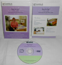 Kenmore SEW IT UP - PATCHWORK DUVET & PILLOW SHAMS DVD Sewing How-To Series