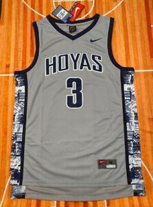 🔥🏀 Allen Iverson Georgetown Hoyas Jersey - All Sizes Medium, L, XL 🏀🔥