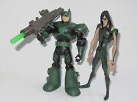 """DC BATMAN  5"""" Inch Action Figure Set  BATMAN vs THE RIDDLER"""