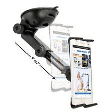 SM67622MM: Arkon Windshield Smartphone & Midsize Tablet Mount w/ Extension Arm