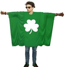 Unisex Ireland Flag St. Patricks Day Irish Clover Shamrock Fancy Dress Costume