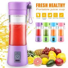 Portable Rechargeable Jet Cordless Squeezers Fruit Juicer Blend Personal Blender