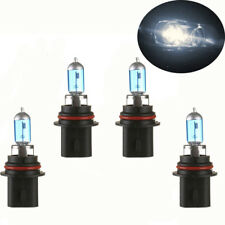 4PCS 9007 100W Halogen Light Bright White Car Headlight Bulbs Bulb 12V 6000K US