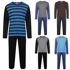 Mens Lounge PJ Pyjamas Sets Night Wear PJ's 2 Piece Pyjama Set Gents New Styles