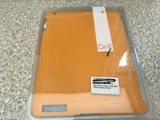 Cubierta de cuero genuino Griff Solaris NARANJA para iPad 2 (nuevo)