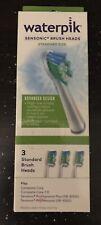 Waterpik Sensonic Brush Head Replacement Toothbrush, 3-Pack