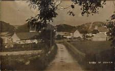 Oxwich. View of Oxwich. Road.
