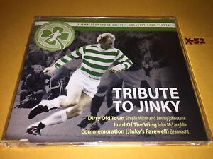 TRIBUTE TO JINKY single CD jimmy johnstone SIMPLE MINDS john mclaughlin BEANACHT
