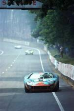 Jacky Ickx & Jackie Oliver JWA Gulf GT40 Winners Le Mans 1969 Photograph 3