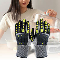Heat Resistant Mitt Barbecue BBQ Grilling Oven Gloves Kitchen Cooking Supply My