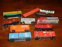 Used HO scale 9 Train Car For Parts Lot