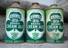 Beverwyck Ale. 3 Different Cone Top Cans. Albany New York Beer.