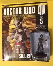 Doctor Who . Silurian Warrior Figurine With Magazine . Issue 5 .