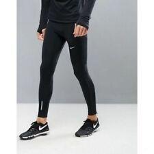Men's Nike Power Full Tech Tight Training Running Leggings Size Small (S) Black