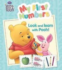"Disney Padded Board - ""Winnie the Pooh"": My First Numbers (Disney Winnie the Poo"