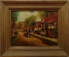 Small (up to 12in.) Traditional Modern (1900-1979) Date of Creation Art Paintings