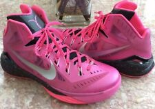 Nike Hyperdunk 2014 Men's Think Pink Breast Cancer Shoes Size 11 #653640-606 EUC