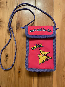 Nintendo Official Pikachu Pokemon Gameboy And Games Carrying Case RARE Very Good