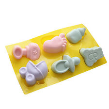 Baby Bottle Carriage Flexible Cake Mold Silicone Mould For Candy Soap Resin