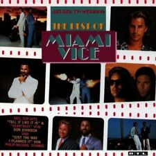 Miami Vice-The Best of (1989) Jackson Browne, Phil Collins, Sheena Easton.. [CD]