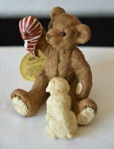 Gilde Bären Teddybär mit Hund und Socke