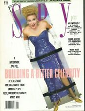 VICTORIA JACKSON Spy Magazine January 1990 1/90 MANUFACTURE CELEBRITY GIRL
