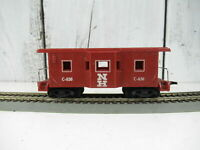 Vintage HO Scale Marx New Haven NH C-630 Bay Window Caboose