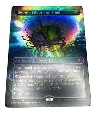Mtg. 2XM. Double Masters. 363. Sword Of Body And Mind. Showcase. Foil.