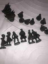 Pirates of Caribbean At Worlds End Replacement Chess Pieces Green 16 Disney 2007