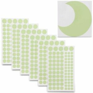 504x Glow in The Dark Stars Moon Wall Stickers, Adhesive Dots for Ceiling, Decor
