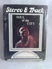 """JOHNNY BRISTOL """"Soul of the City"""" 8-Track tape NEW! Sealed. 1975 Monarch S265"""