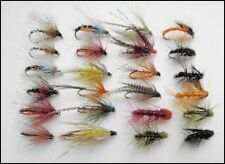 Loch Fishing Flies, 24 Suitable for lochs, Dabblers, Snatchers, Emergers Mixed