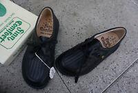 FINN COMFORT Verona Damen Schuhe Schnürschuhe Gr.35 Leder Schwarz m Einlagen NEU