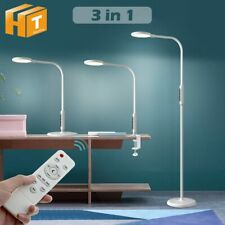 LED Floor Lamp With Remote Indoor Adjustable Standing Lamp Dimmable Reading Lamp