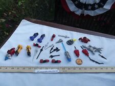Vintage Lot Mighty Morphin Power Rangers Small Parts Guns Arms Swords Disc more