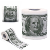 Novelty Euro Bank Note Joke Funny Money Currency Toilet Tissue Paper Roll  L JG