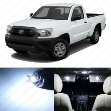 5 x Xenon White LED Interior Lights Package For 2005 - 2013 Toyota Tacoma