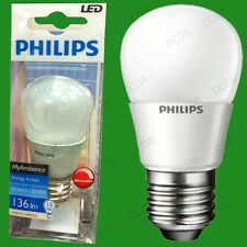 2x 3w Philips Led Regulable Ultra bajo consumo de energía Golf bombillas, es, E27 Rosca De Lámpara